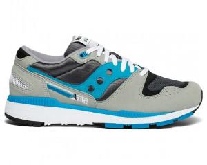Мужские кроссовки AZURA Grey/Blue S70437-15