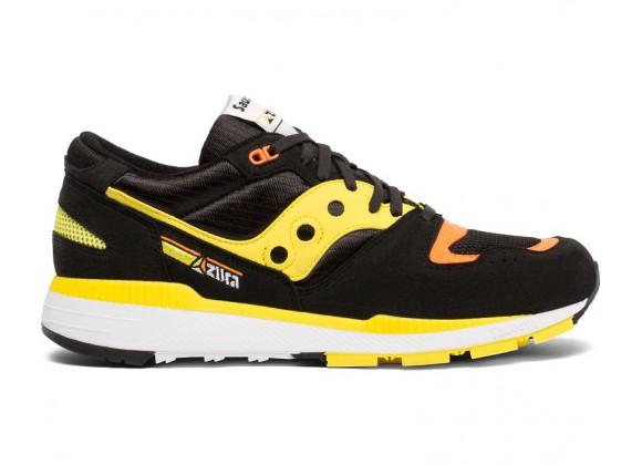 Мужские кроссовки AZURA Black / Yellow / Orange S70437-3