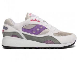 Мужские кроссовки Shadow 6000 White/Grey/Purple S70441-2